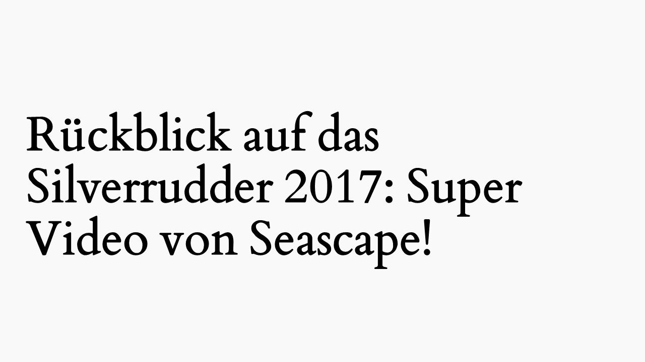 Silverrudder 2017