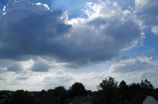trockene Cumulus