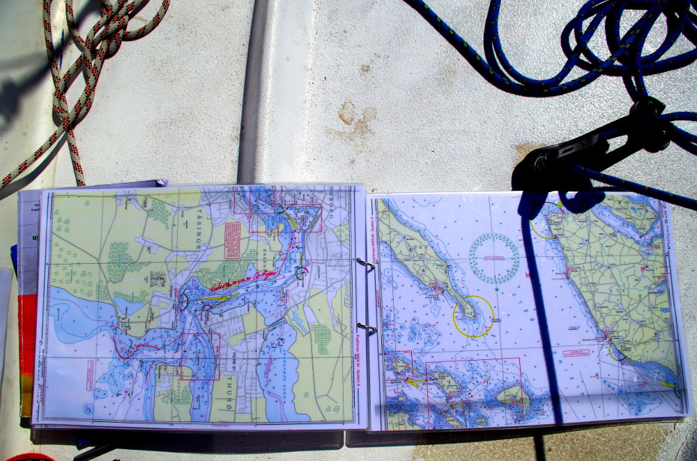 Seekarten für Kleinkreuzer