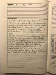 Logbuch selbst gemacht